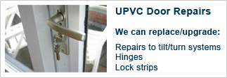 UPVC Door Repairs from Bassett Lock and key, your local Southampton locksmith