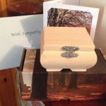 The box containing Holly's ashes, stolen in Southampton Burglary on 22/08/15